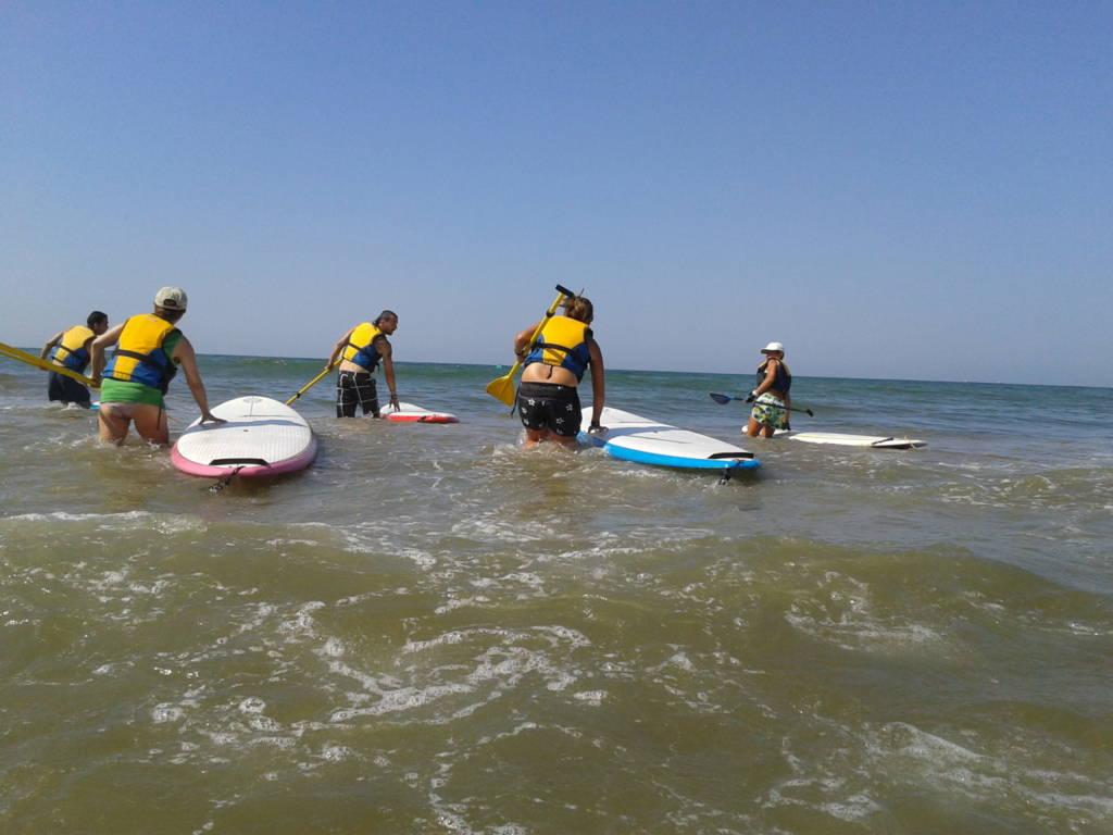 rumbo sur paddle surf cursos