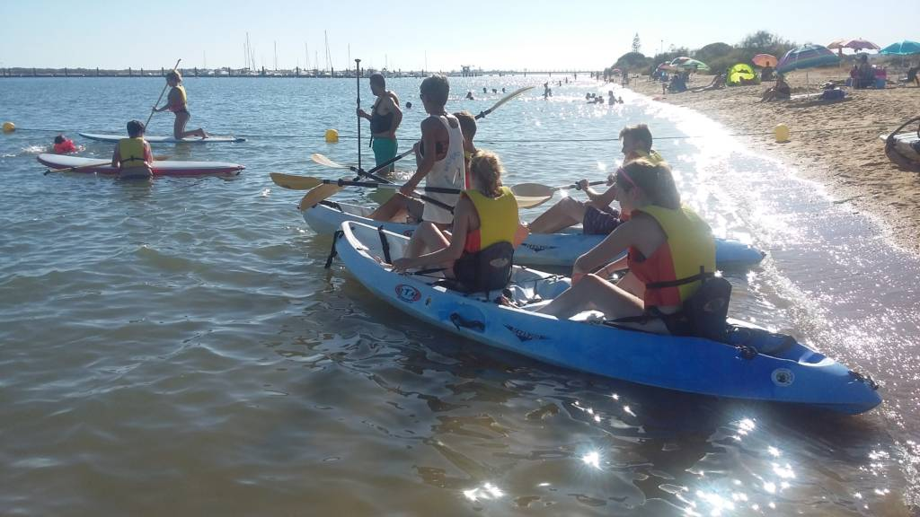 Alquiler kayak Huelva