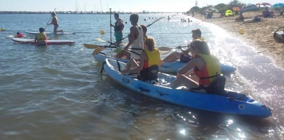 Alquiler Kayak y Paddle Surf